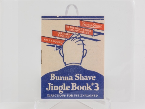 Burma-Shave Jingle Book #3
